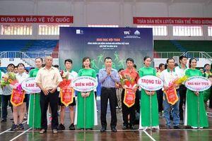 Hàng trăm công nhân ngành mía đường tham gia Hội thao Công nhân lao động lần thứ VII