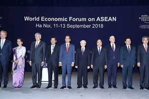 Chiều nay, bế mạc Hội nghị WEF ASEAN 2018