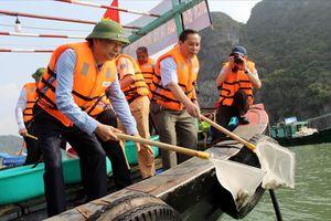 Từ 1.10.2018, cấm khai thác thủy sản trên vịnh Hạ Long