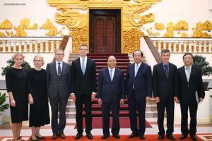Thủ tướng hoan nghênh các chuyên gia Estonia về chính phủ điện tử sang Việt Nam