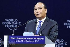Những câu nói ấn tượng của Thủ tướng Nguyễn Xuân Phúc tại WEF ASEAN 2018