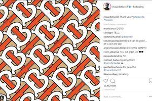 Hãng thời trang Burberry bất ngờ thay logo kẻ sau 2 thập kỷ