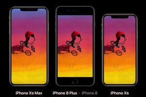 XS và XS Max là 2 chiếc iPhone đầu tiên của Apple có 4GB RAM