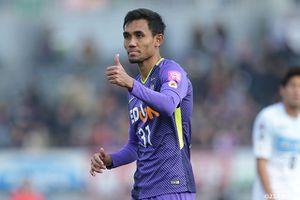 Cầu thủ Thái Teerasil Dangda nhận lương cao nhất J.League 1