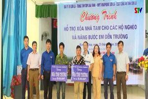 VNPT Sơn La chung tay chia sẻ khó khăn với nhân dân xã Mường Khoa