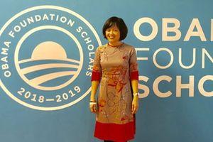 Người phụ nữ Việt Nam đầu tiên đặt chân tới Nam Cực vừa nhận học bổng danh giá từ quỹ Obama