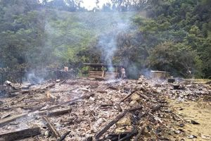 Bình Gia (Lạng Sơn): Cháy nhà thiệt hại hơn 200 triệu đồng
