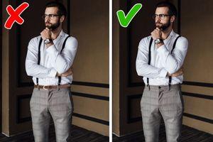 8 lỗi ăn mặc kém sang nam giới thường mắc phải