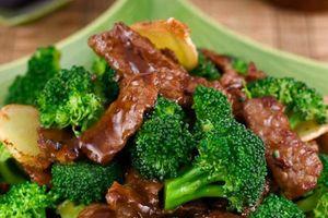 Cách làm thịt bò xào súp lơ xanh cải thiện 'chuyện ấy' cho nam giới