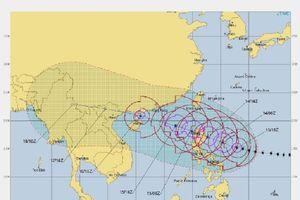 Những hình ảnh về siêu bão Mangkhut