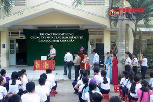 Kiên Giang: Đẩy mạnh tuyên truyền vận động học sinh tham gia bảo hiểm y tế