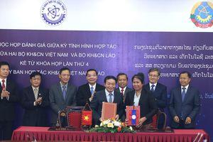 Hợp tác khoa học công nghệ giữa Việt Nam – Lào ngày càng hiệu quả, thiết thực