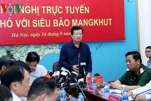 Phó Th tng Trnh ình Dng ch o ng phó siêu bão Mangkhut