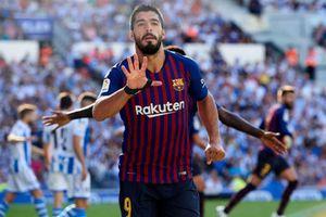 Suarez, Dembele tỏa sáng, Barca chật vật giành 3 điểm trước Sociedad
