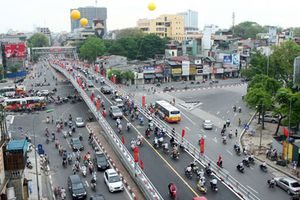 Hà Nội: Chất lượng không khí các điểm giao thông diễn biến trái ngược trong ngày cuối tuần