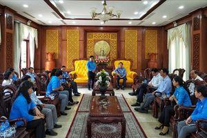 Long An: Bí thư Tỉnh ủy gặp đoàn đại biểu dự Đại hội XII Công đoàn Việt Nam
