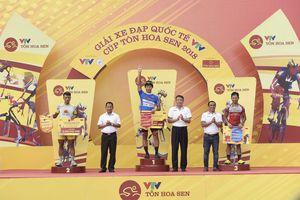 Chặng 13 Giải đua xe đạp quốc tế VTV-Cúp Tôn Hoa Sen 2018: Im Jaeyeon xứng danh 'vua nước rút'