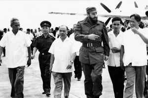 Tấm lòng của Fidel với Việt Nam