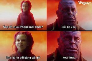 Cộng đồng mạng thi nhau chế ảnh cực hài hước về bộ ba iPhone mới
