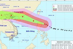 Siêu bão Mangkhut tin vào Bin ông, Qung Ninh ra công in khn ng phó