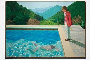 Tranh của họa sĩ David Hockney 81 tuổi được định giá 80 triệu USD