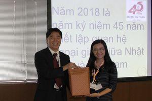 Giao lưu cán bộ hành chính trẻ Việt Nam - Nhật Bản