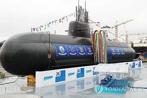 Hàn Quốc ra mắt tàu ngầm có thể đối phó mọi mối đe dọa
