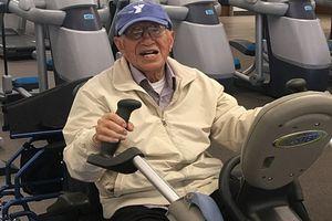 Cụ ông 111 tuổi vẫn 'nghiện' tập gym mỗi ngày