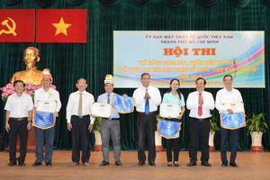 Hội thi 'Kỹ năng tổ chức giám sát, phản biện xã hội và Đại hội MTTQ Việt Nam các cấp'
