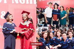 Hoa hậu Đỗ Mỹ Linh xinh đẹp rạng rỡ trong ngày tốt nghiệp Đại học