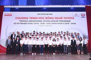 Khai giảng khóa 2 chương trình 'Học bổng Dạy nghề Toyota'