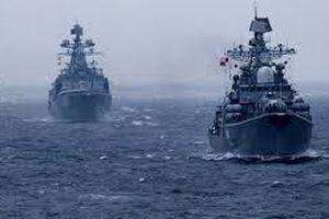 Tàu chiến Nga rầm rộ tập trận 'sát nách' Mỹ
