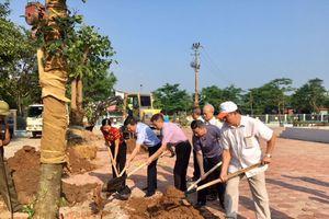 Thạch Bàn trồng mới 300 cây xanh hưởng ứng vì môi trường xanh - sạch - đẹp