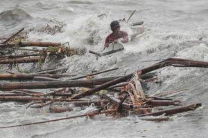 Những hình ảnh không thể sợ hơn khi 'quái vật' Mangkhut càn quét Philippines