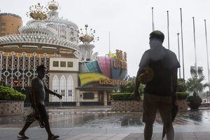Macau đóng cửa tất cả sòng bài vì siêu bão