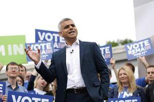 Thị trưởng London kêu gọi trưng cầu dân ý lần 2 về Brexit