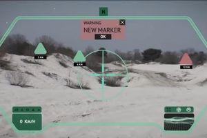 Công nghệ mới giúp xe tăng quan sát 360 độ như phim viễn tưởng