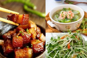 Đổi vị bữa cơm cuối tuần với 3 món ngon mà chế biến đơn giản này, cả nhà sẽ gật gù ưng ý
