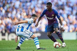 Messi 'im tiếng', Barca vẫn thắng trận thứ năm liên tiếp