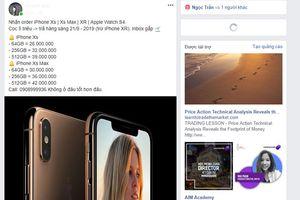 Chưa về VN, iPhone XS và XR xách tay đã loạn giá
