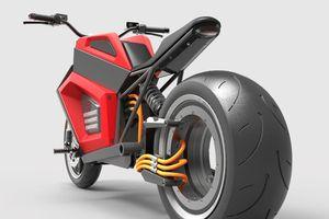 Chiếc môtô điện này trông như đến từ hành tinh khác
