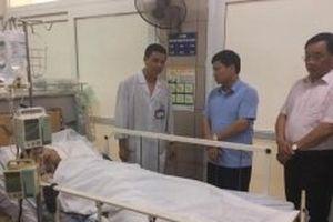 Bệnh viện Bạch Mai điều trị tích cực cho hai nạn nhân