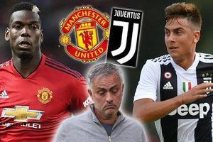 Chuyển nhượng bóng đá mới nhất: MU và Juventus trao đổi 'khó tin'