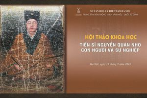 Tái hiện chân dung một vị quan thanh liêm đời vua Lê Huyền Tông