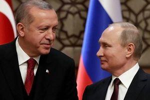 Tổng thống Thổ Nhĩ Kỳ sẽ gặp ông Putin về vấn đề Syria
