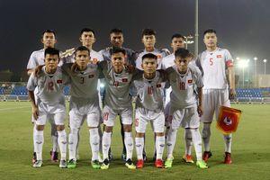 U.19 Việt Nam học được nhiều sau trận thua tại Cúp tứ hùng Qatar