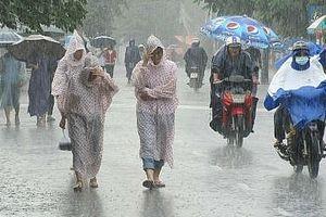 Ảnh hưởng hoàn lưu bão số 6, miền Bắc có mưa lớn