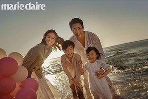 Ảnh hạnh phúc của vợ chồng Kwon Sang Woo nhân 10 năm ngày cưới