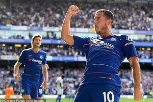 Eden Hazard bất ngờ dẫn đầu danh sách ghi bàn tại Premier League