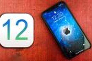 iOS 12 chính thức ra mắt vào 17/9